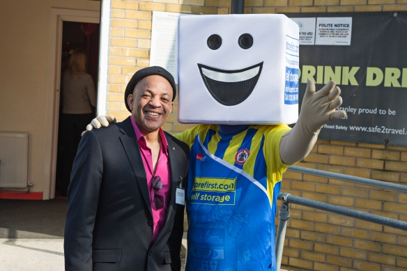 Accrington Stanley's New Mascott