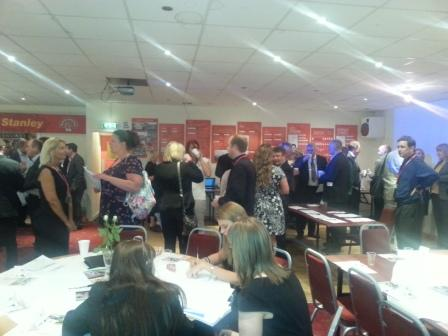 70 Plus Attendees Network at ABL